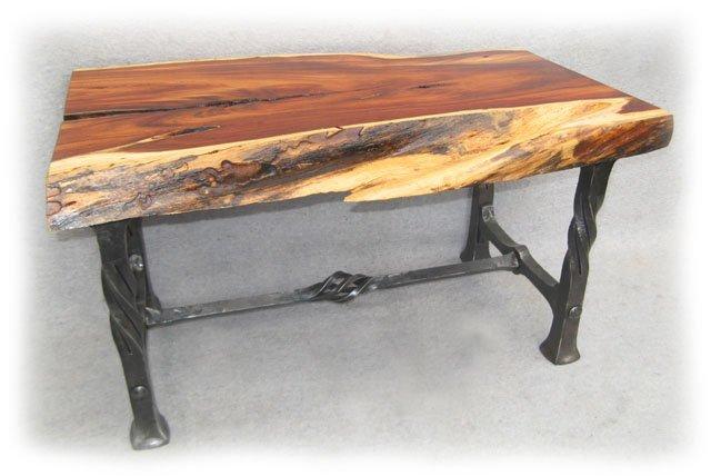 Wrought Decoite Iron Steel Blacksmith Table | Decoites Steel